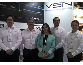 VSN consolidates its presence in Brasil at SET Expo 2014