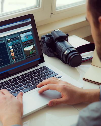 100% HTML Web video editor