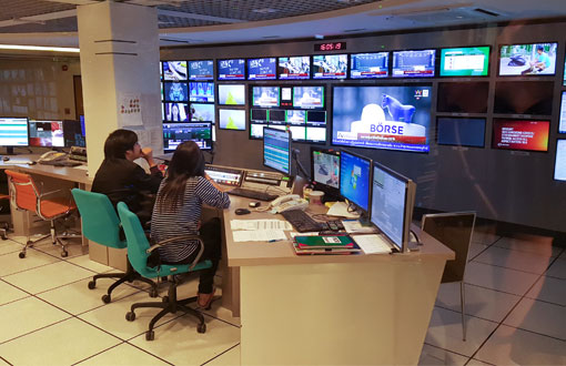 Amarin TV MCR Automation system