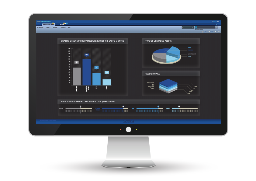 VSNEXPLORER BI: Business Intelligence Software for MAM, PAM and BPM