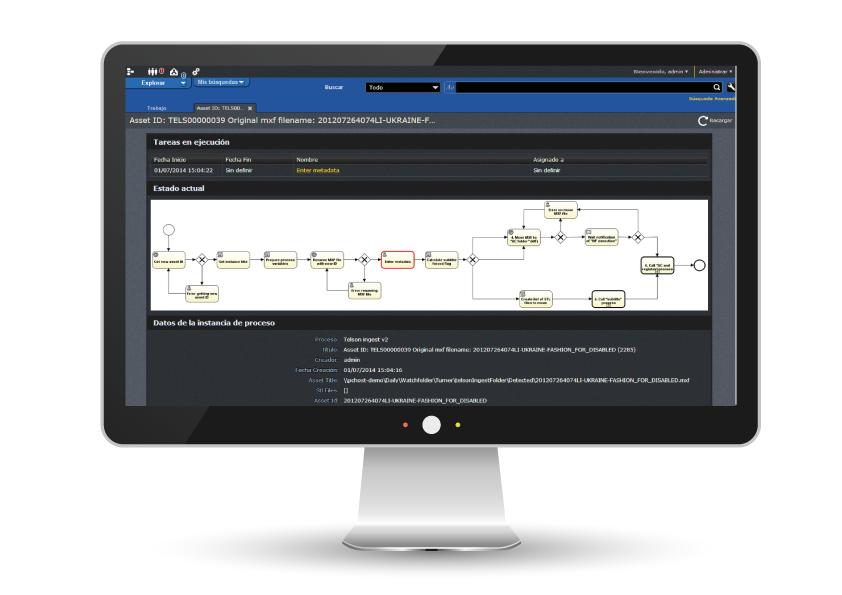 VSNEXPLORER Bussiness Process Management software module