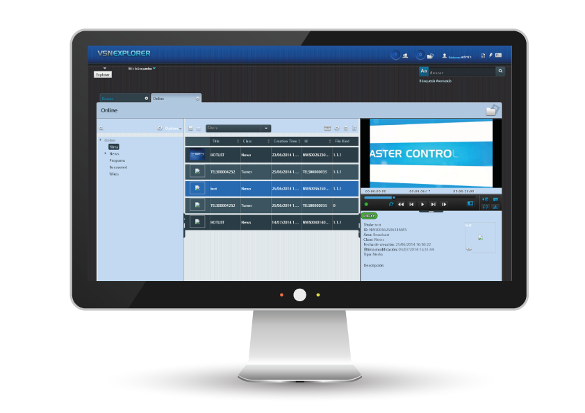 Production Asset Management software for broadcasters