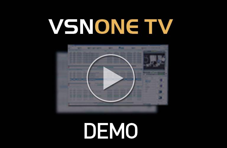 Visualiza la Demo del Playout Integrado de VSN: VSNONE TV