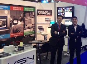 VSN closes CABSAT 2015 with a great success of visitors and contacts