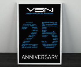 VSN celebrates its 25th Anniversary in the Media & Entertainment industry at NAB 2015