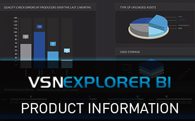 VSNEXPLORER BI Product Information