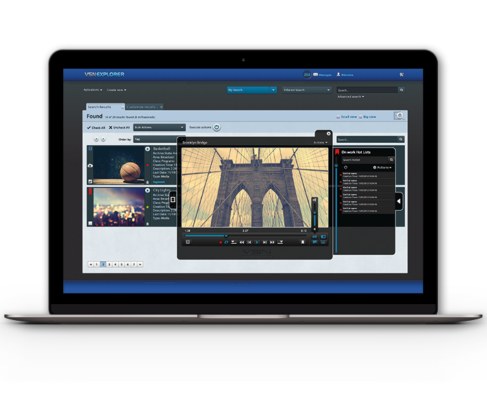 Thanks to integrating MAM and QC systems, we become more flexible and quicker to have all our content ready to be broadcasted as soon as possible.