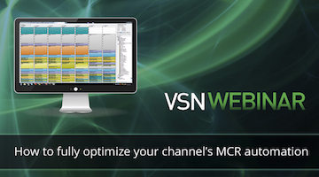 VSN presents an advanced Webinar dedicated to MCR automation