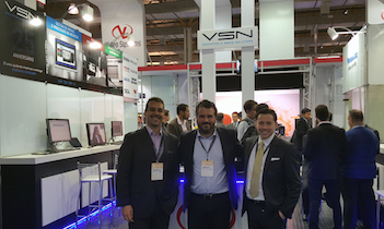 VSN presents with great success its solution at Brazilian SET Expo 2015