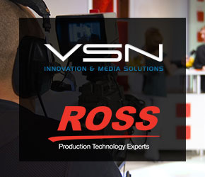 VSN and Ross Video will present at IBC their powerful combined solution for news production
