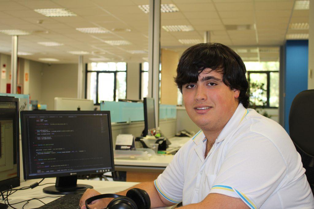 Oriol Egea es el trabajador más joven de la plantilla de VSN