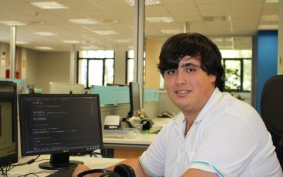 "Oriol Egea, Web & CRM Developer: ""VSN helps me to grow professionally and to develop my potential"""