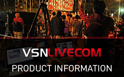 Product information of VSNLIVECOM: solid, reliable and flexible Studio Playout.