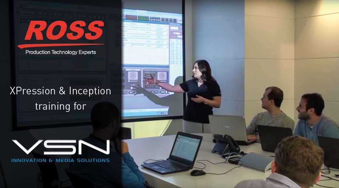 VSN and Ross Video join forces to offer the most advanced news solution