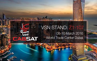 """VSN attends CABSAT 2016 with new features for """"From End-to-End to Anywhere"""""""