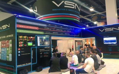 VSN brings the latest VSNEXPLORER innovations to NAB 2016 with great success