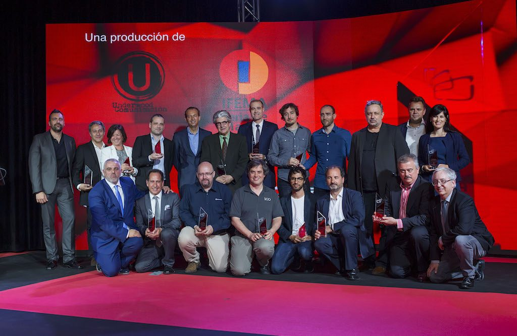Jordi Utiel, VSN's CEO & President, with the rest of the winners