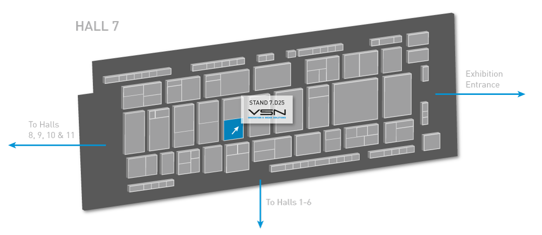 VSN's location at IBC 2016