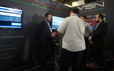 VSN culmina su participación en la feria Telemundo con una exitosa acogida de sus soluciones