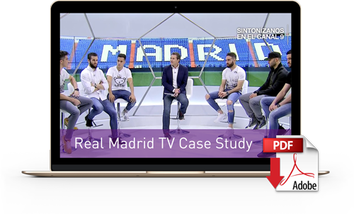Download Real Madrid TV Case Study for MCR Automation
