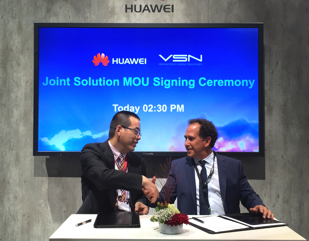 Vsn closes ibc 2016 with new international agreements and a great thanks to this new agreement vsn and huawei will promote new joint solutions to foster platinumwayz