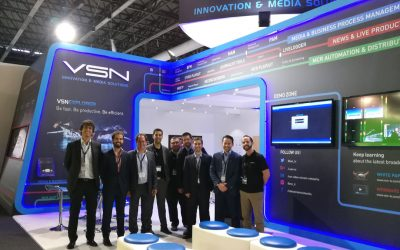 VSN closes IBC 2016 with new international agreements and a great welcoming of all its latest software developments