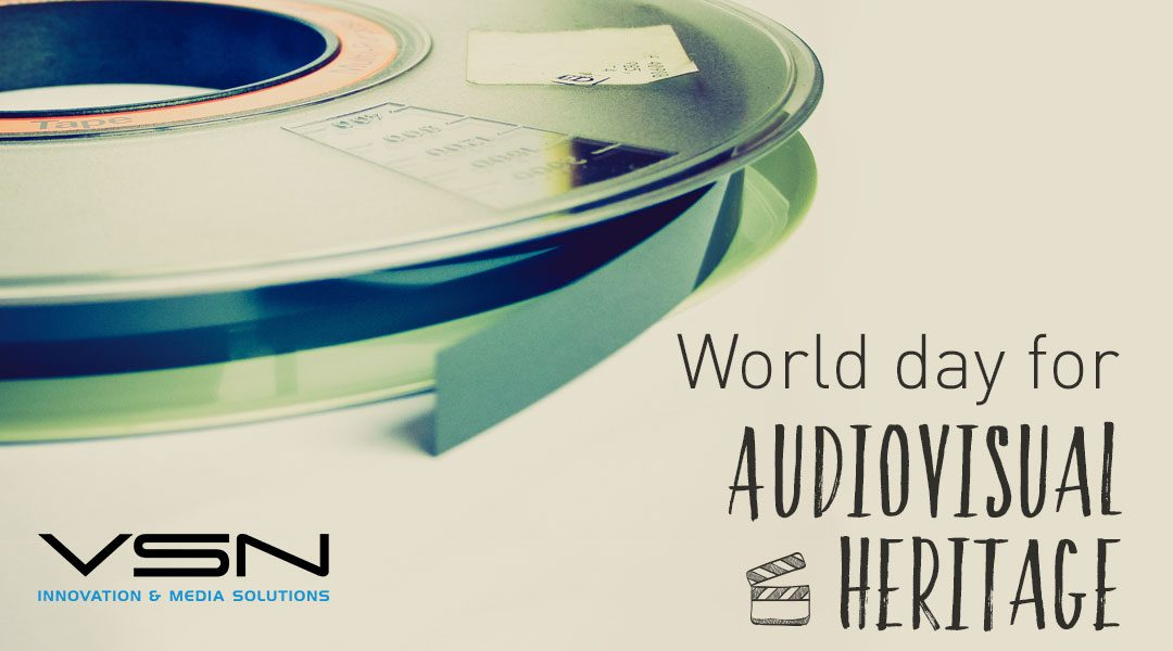 World Day for Audiovisual Heritage: for the preservation of our historical memory