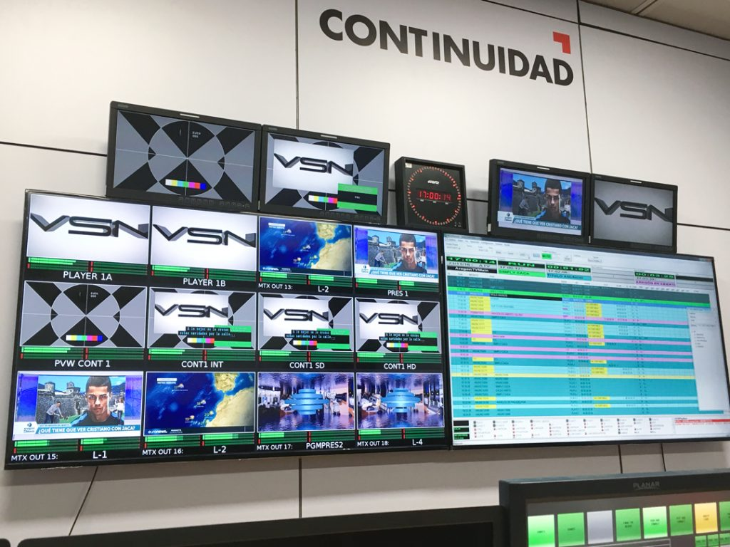 Aragón TV has bet on VSN's technology to install a brand-new playout automation system.