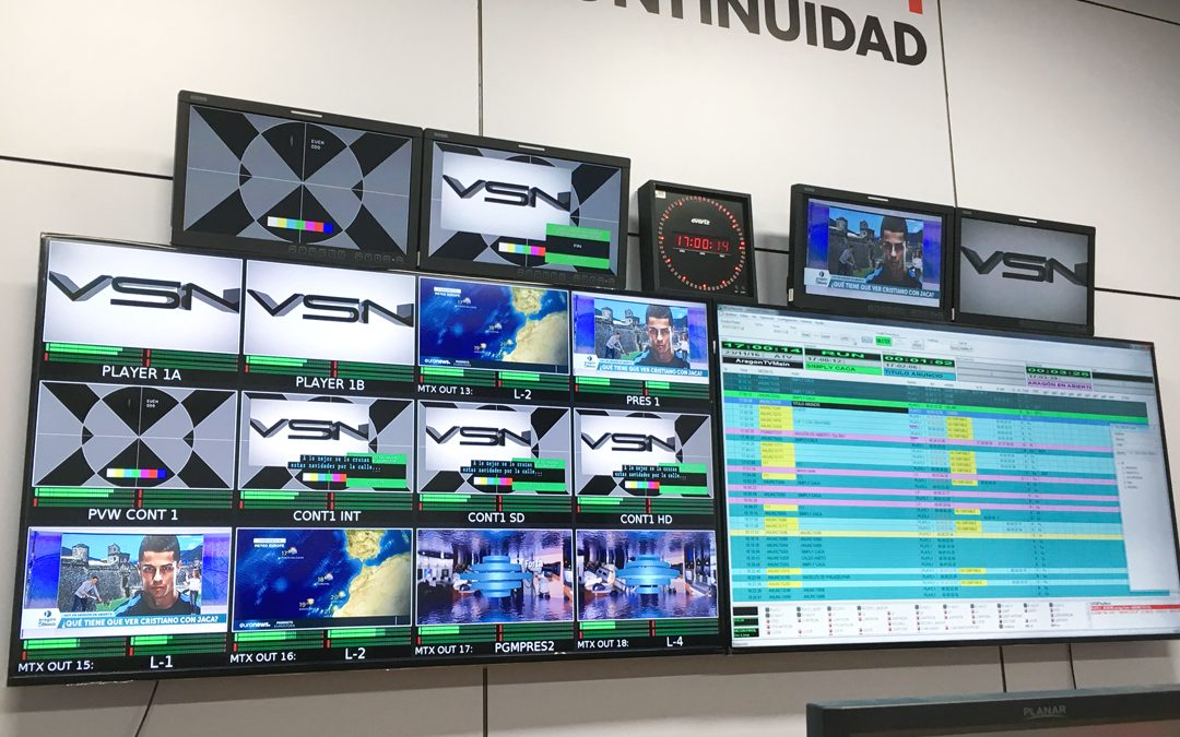 Aragón TV bets on VSN's technology for its new playout automation system