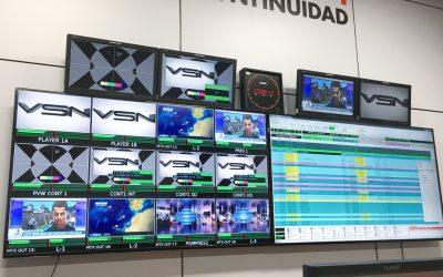 Aragón TV apuesta por la tecnología de VSN para su nuevo sistema de continuidad