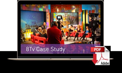 Descargue el caso de estudio de 8TV