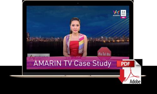 Descargue el caso de estudio de Amarin TV