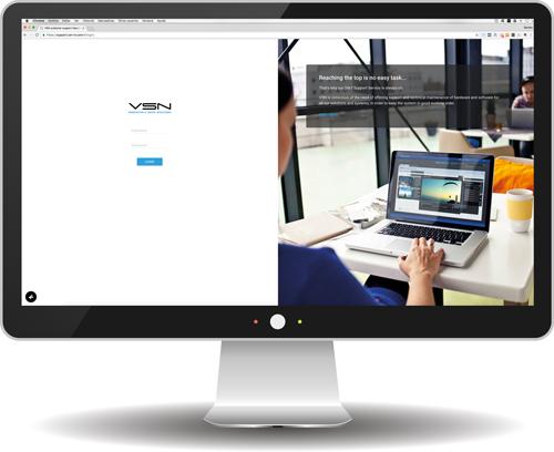 Portal de soporte técnico de VSN