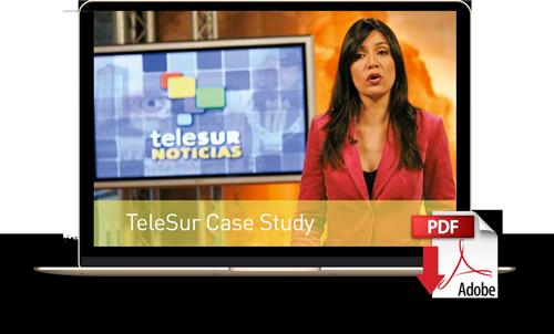 Descargue el caso de estudio de TeleSur
