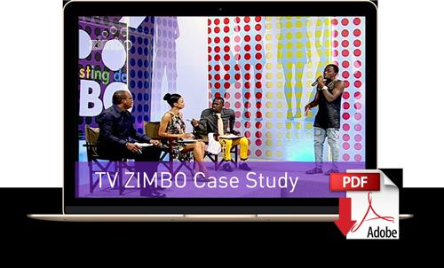 Descargue el caso de estudio de TV Zimbo