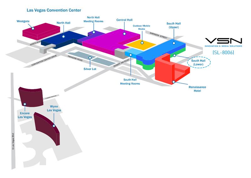 Localización de VSN en NAB Show 2017