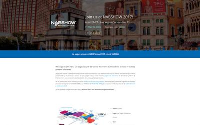 VSN launches new website specially dedicated to NAB Show 2017