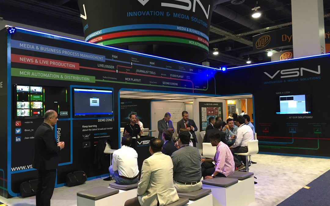 Road to NAB 2017: VSN enhances its flagship solution for Media & Business Process Management