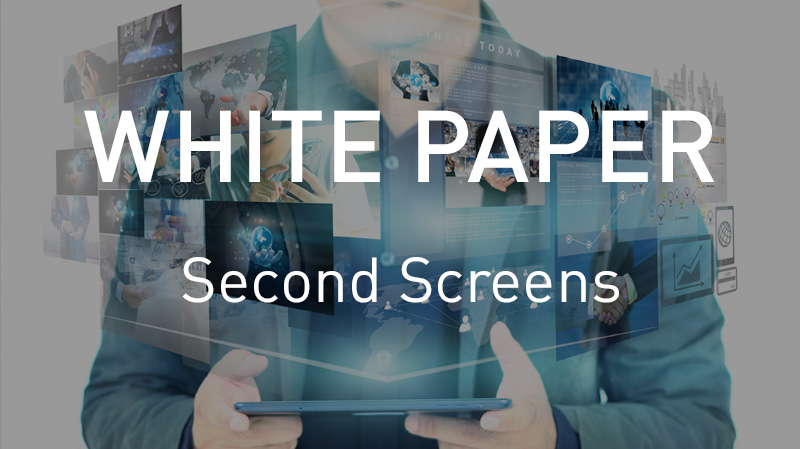 TV and Second Screens White Paper: Where are the audiences nowadays?