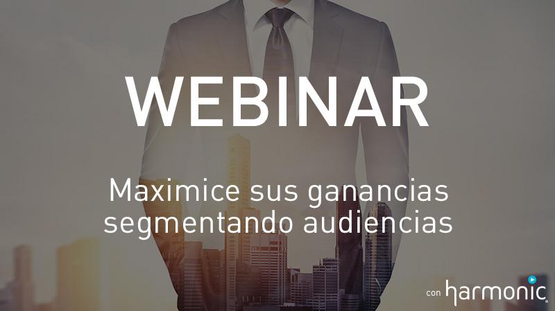 Webinar Maximice sus ganancias segmentando audiencias
