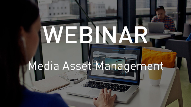 Webinar Media Asset Management