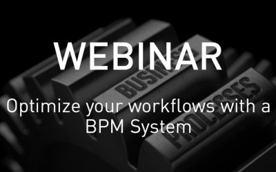 VSNWEBINAR: Optimize your workflows with a BPM System
