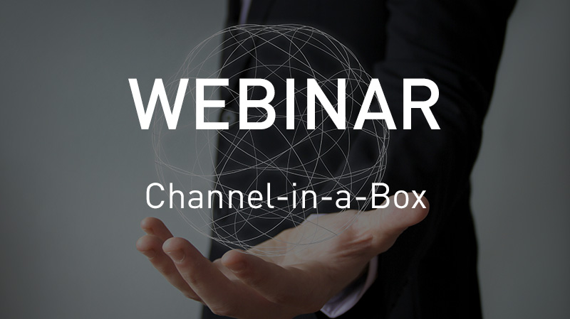 Webinar Channel-in-a-box