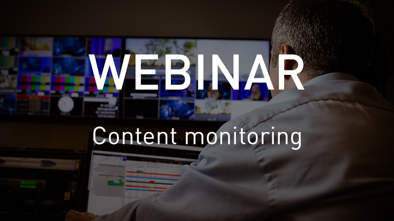 VSN Webinar: Learn how to monitor your content like a frame accurate detective
