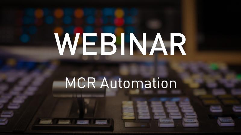 Webinar de automatización MCR