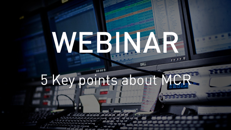 Webinar 5 MCR Keypoints
