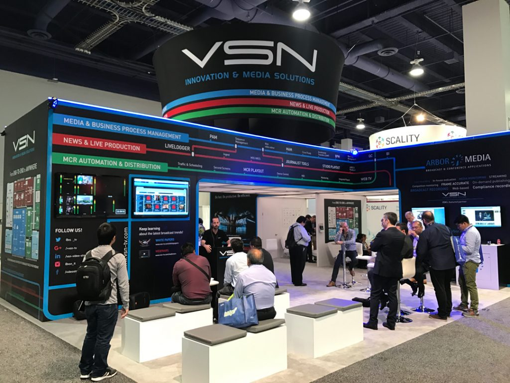 VSN culminates NAB Show 2017 with great success of its latest products and software developments.