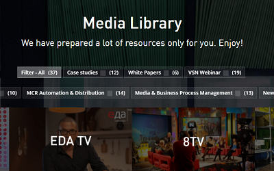 VSN brings together all its e-learning content in a new media library