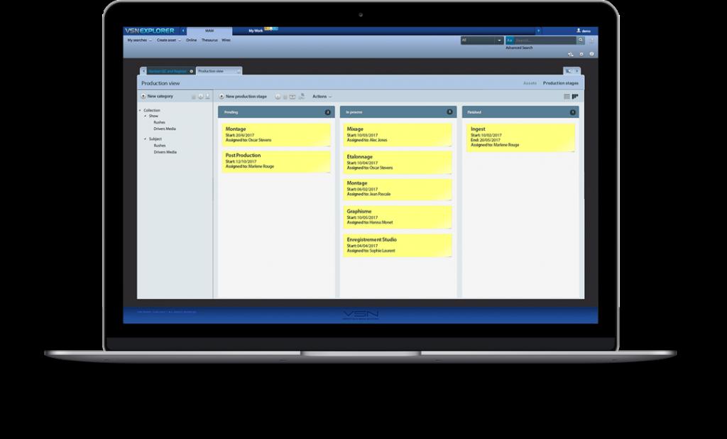 VSN's advanced PAM software