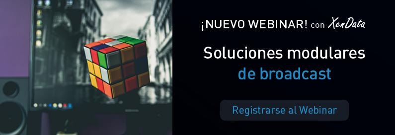 Nuevo webinar de VSN con XenData: Soluciones modulares de Broadcast. ¡Regístrese ya!